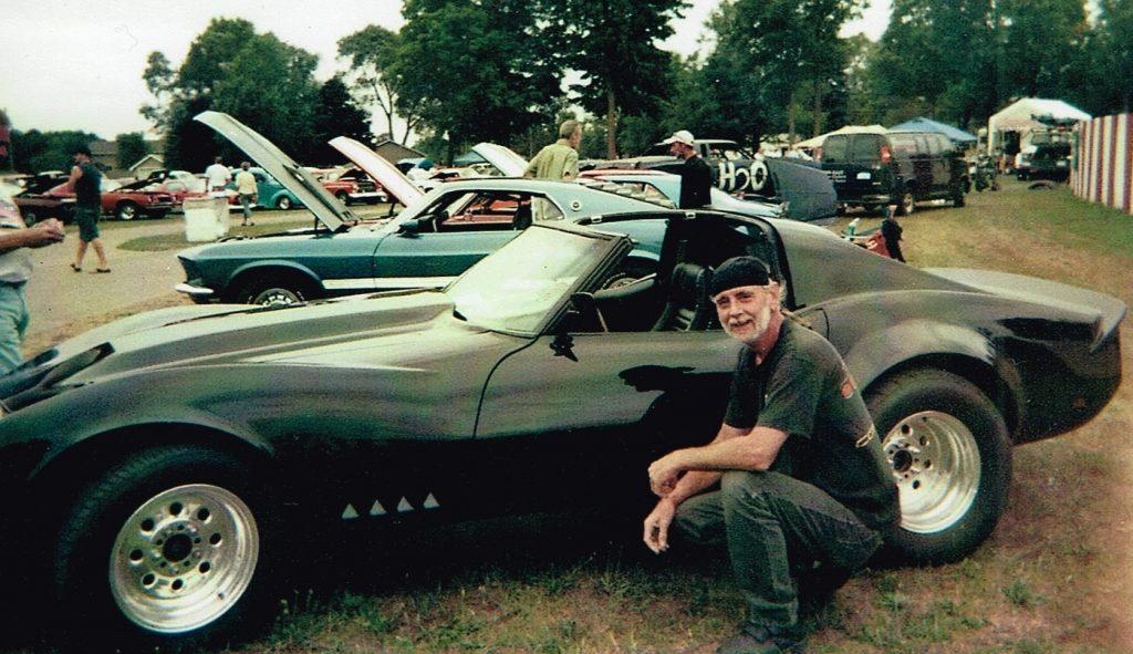 Don & his Vette 1968 Chevrolet Corvette 427 Brute