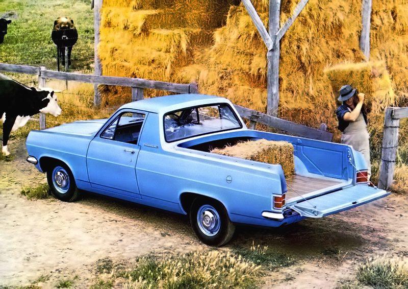 1965-66 Holden HD rear three-quarter