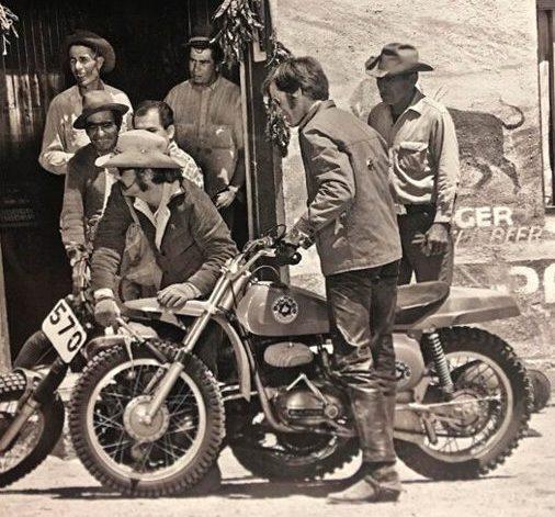 Peter Fonda Bultaco Pursang 250 MKII
