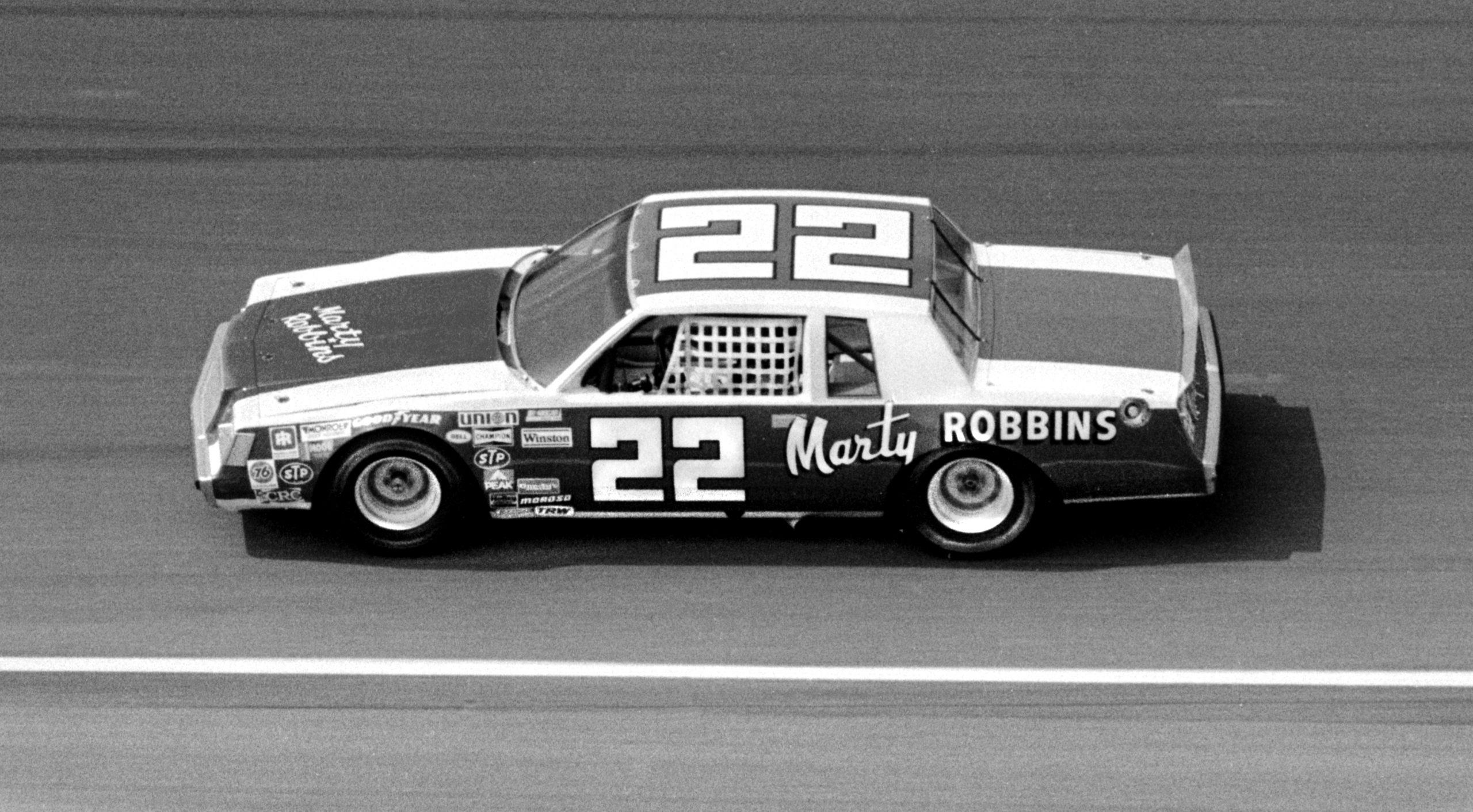 Marty Robbins NASCAR 1982 Firecracker 400 NASCAR race