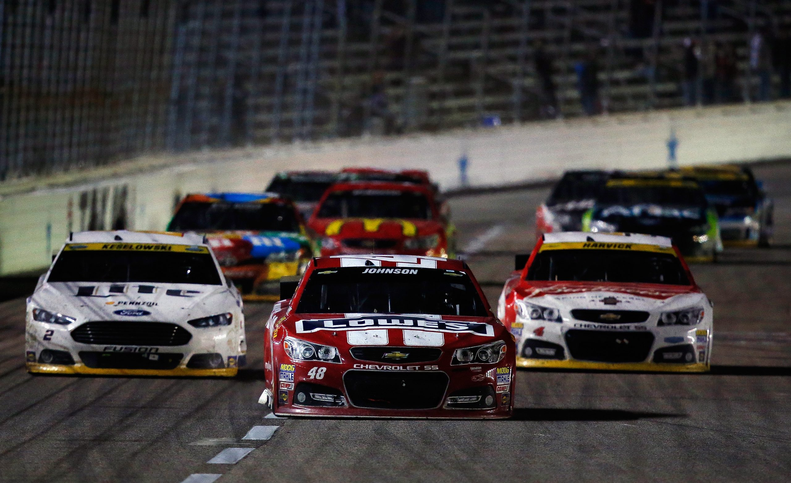 NASCAR stock car Texas