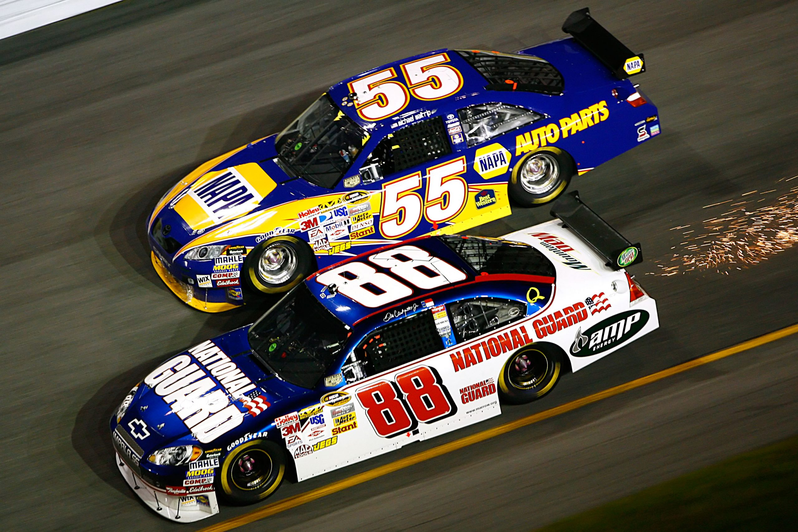 Dale Earnhardt Jr NASCAR Car of Tomorrow