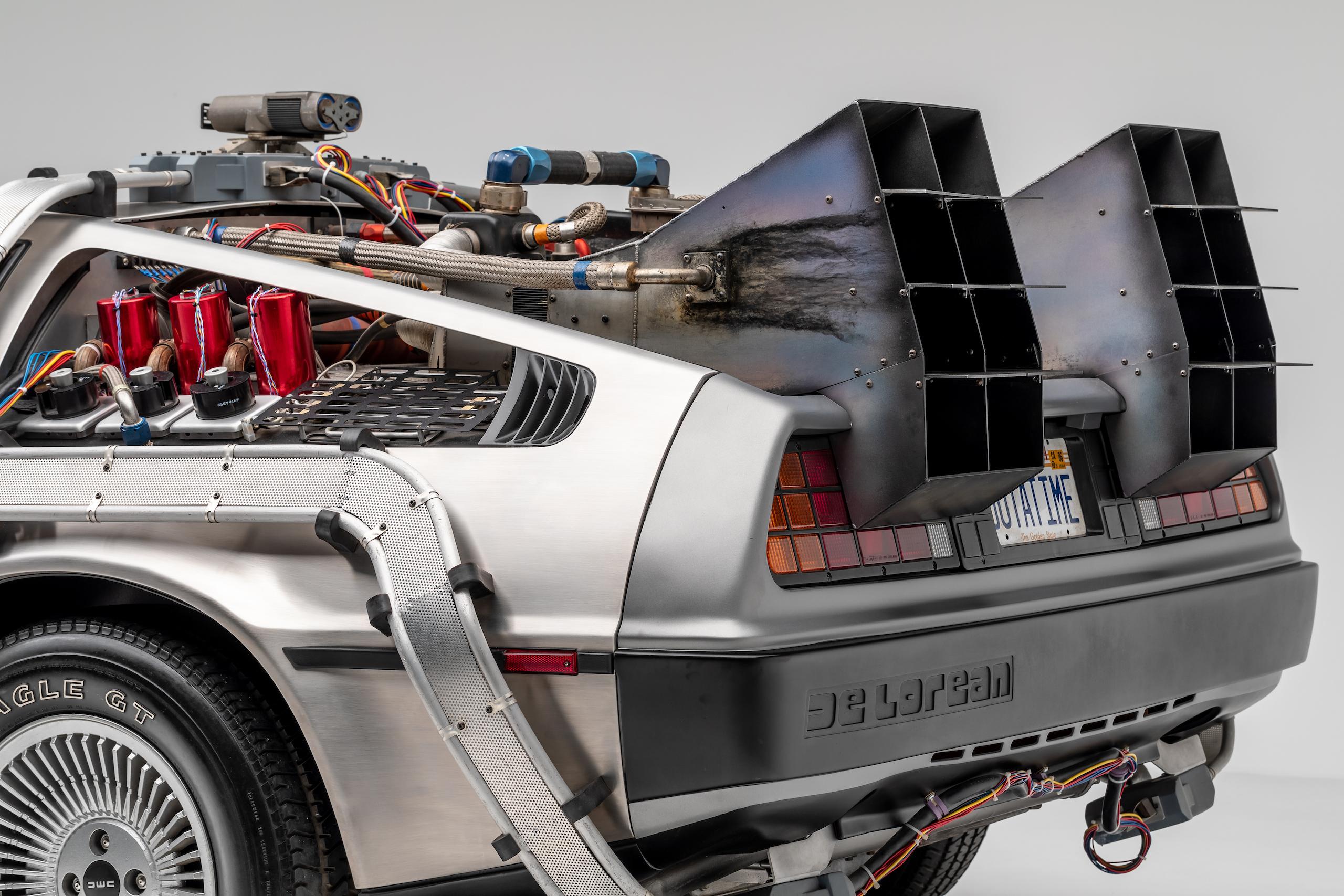 Back to Future DeLorean rear