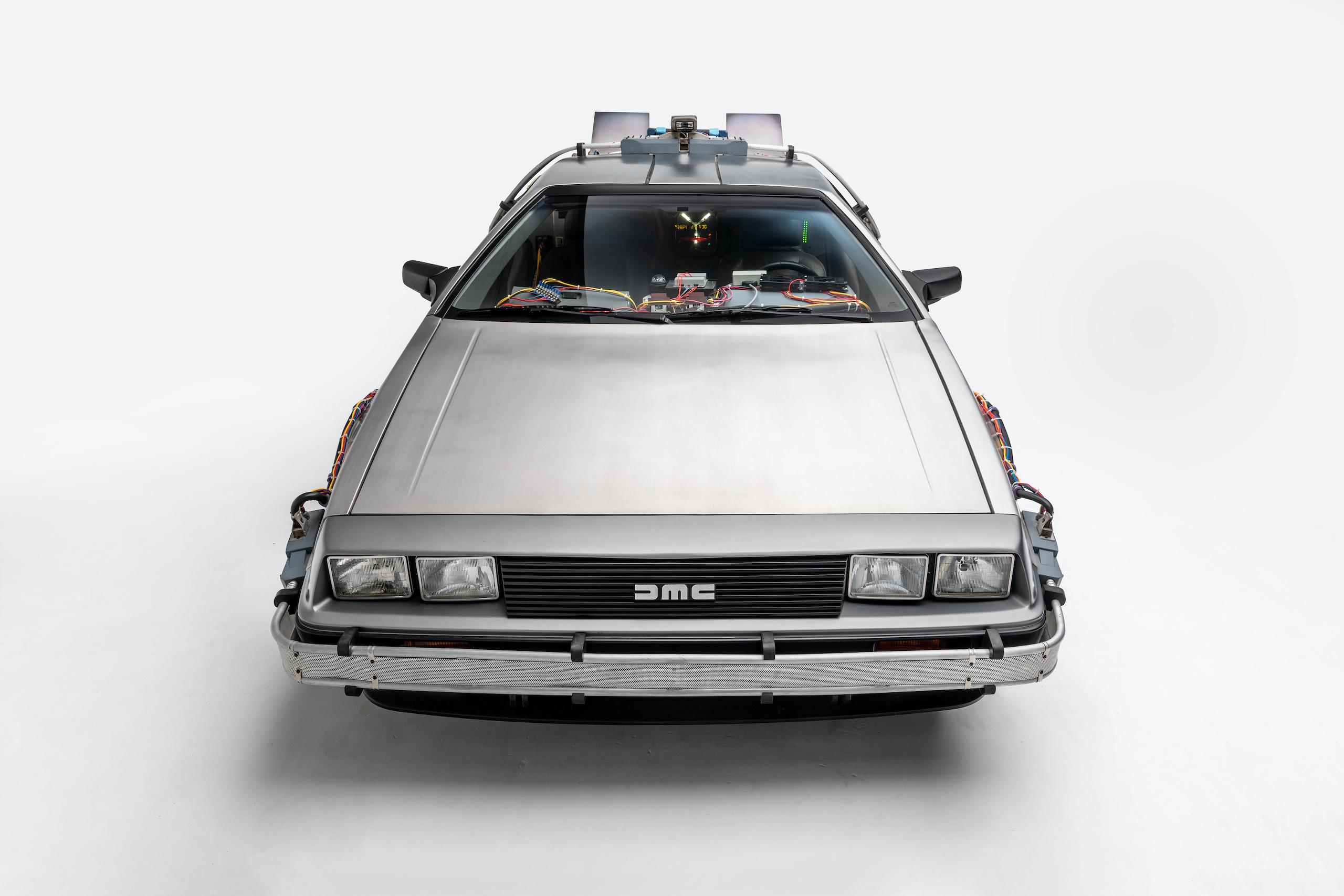 Back to Future DeLorean front