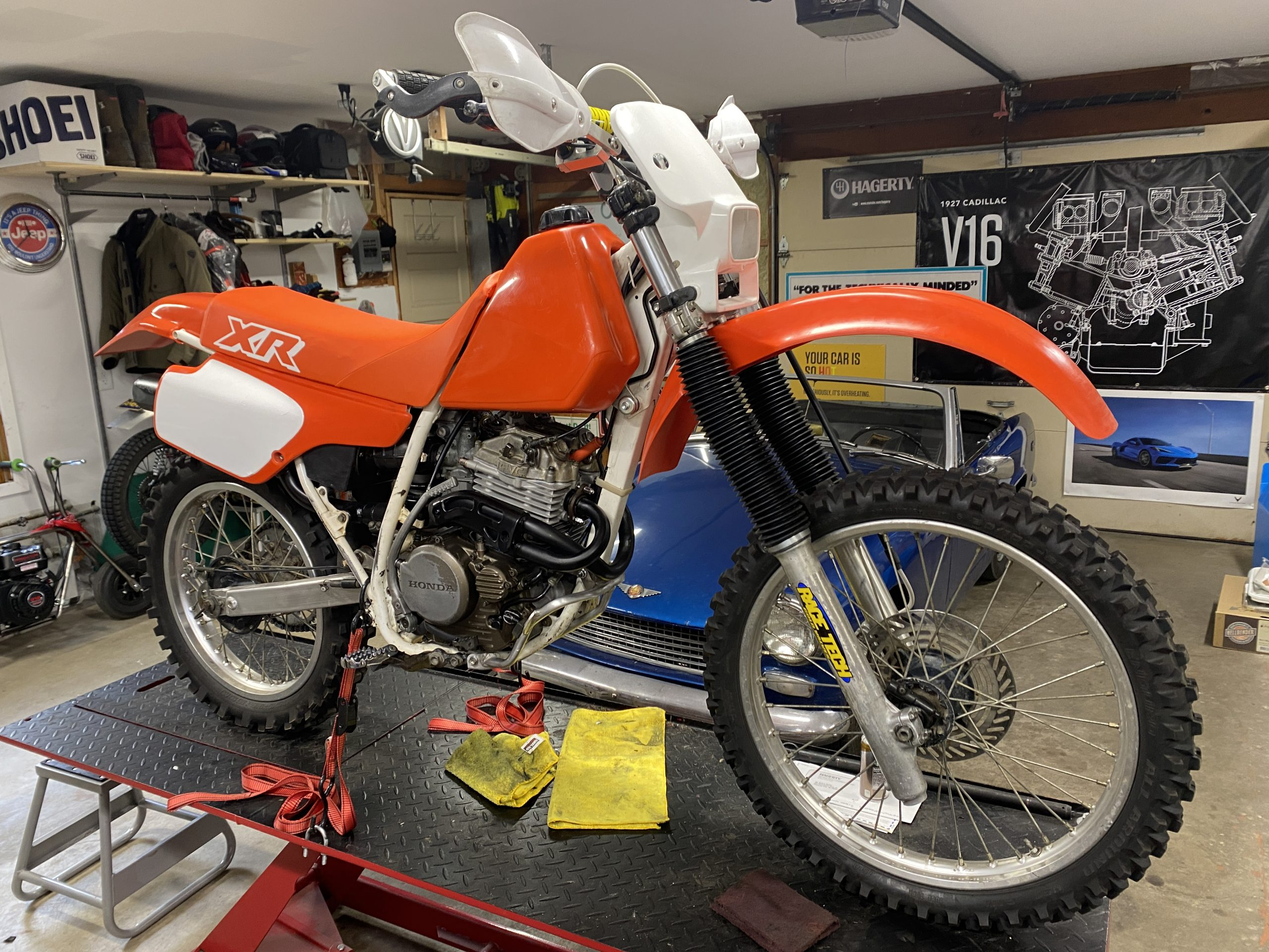XR250 ready for test fire