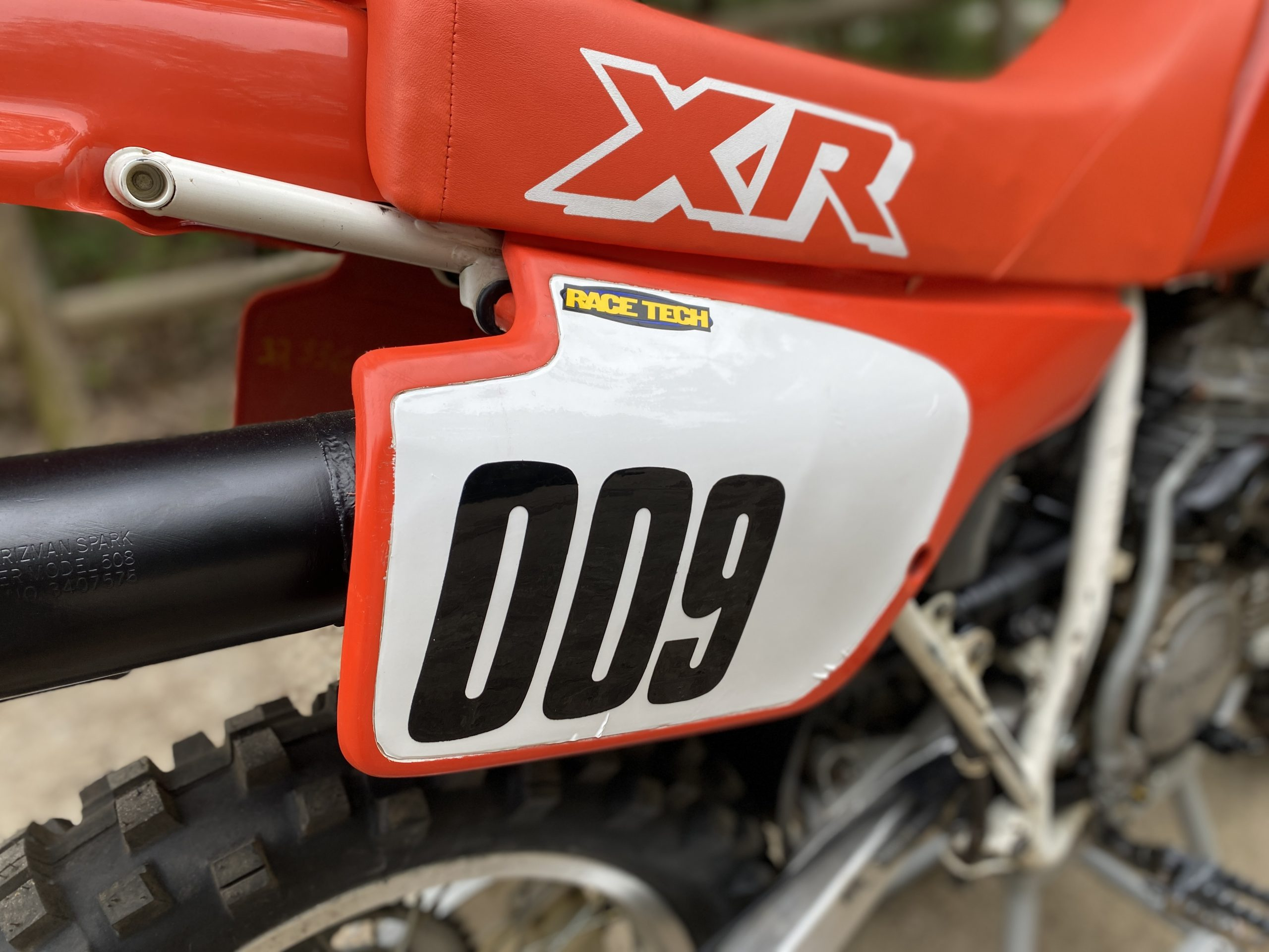 Honda XR250 completed