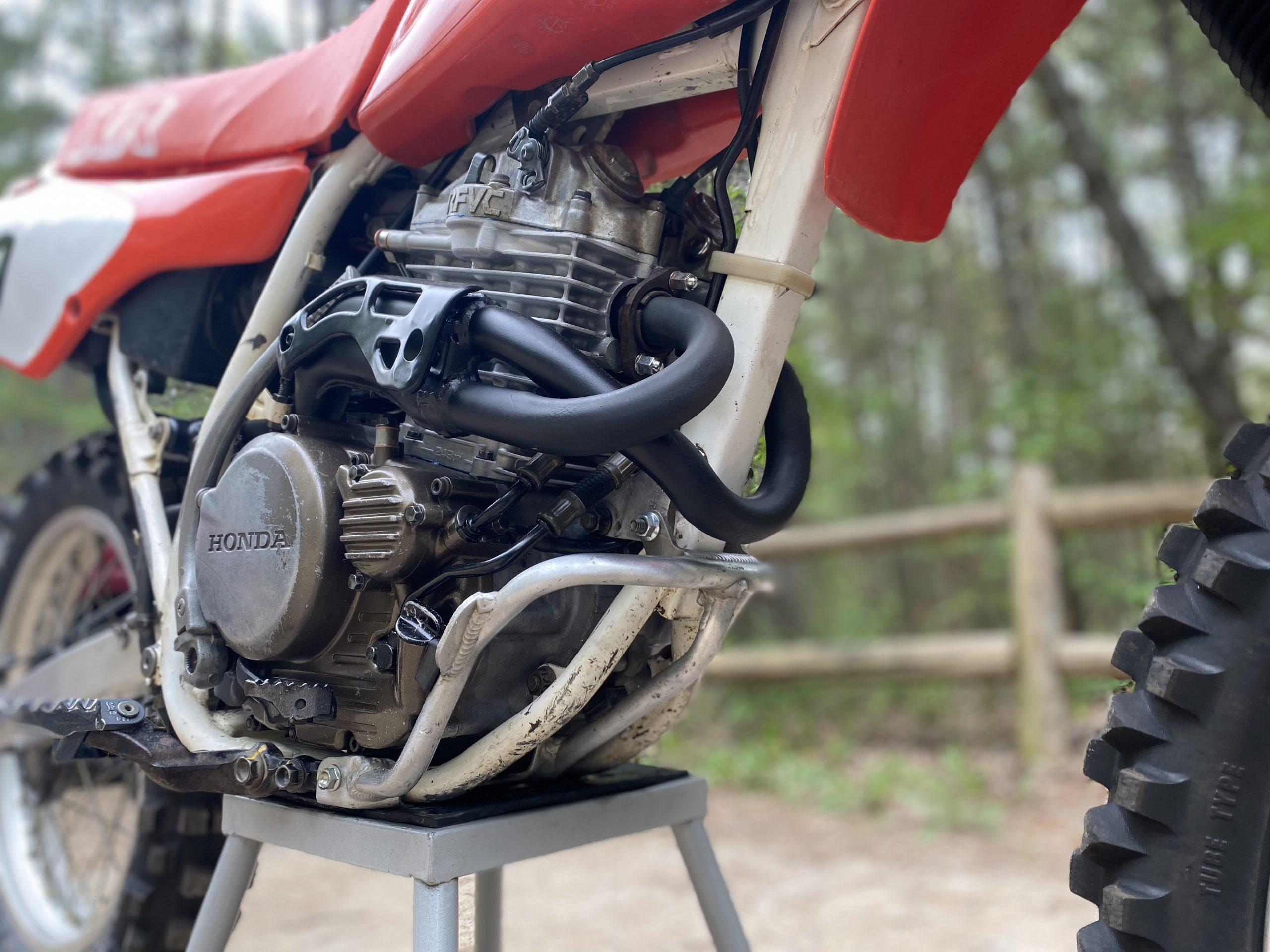 Honda XR250 engine completed