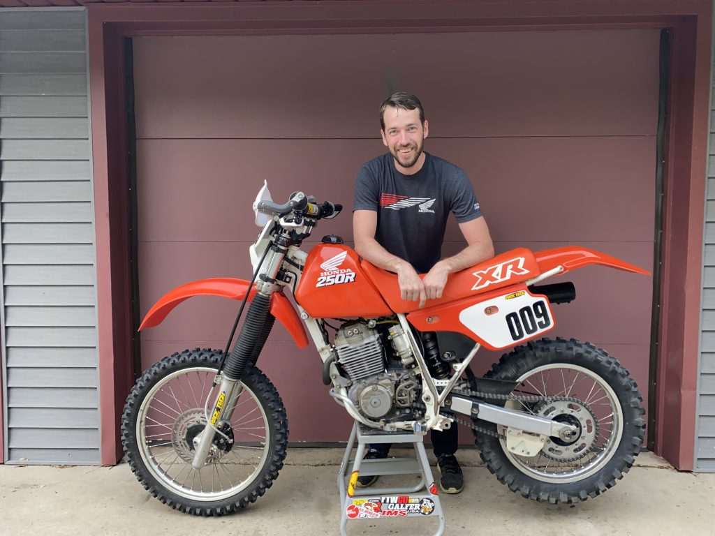 Kyle Smith and six ways XR250R