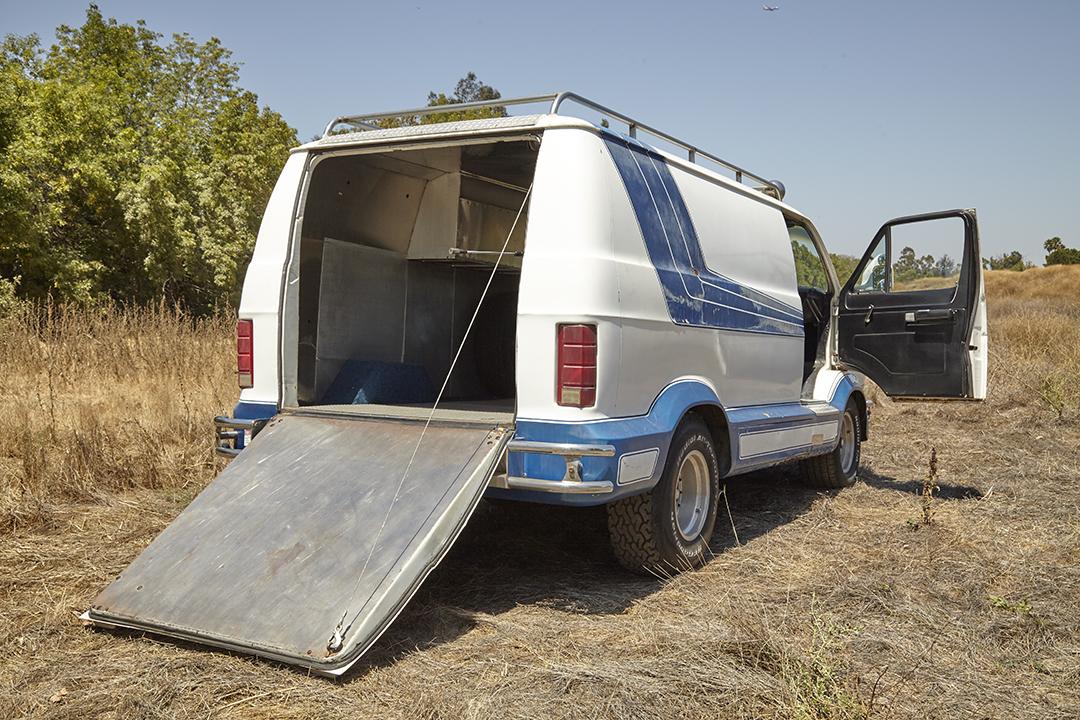 Deans Machine Van rear cargo gate