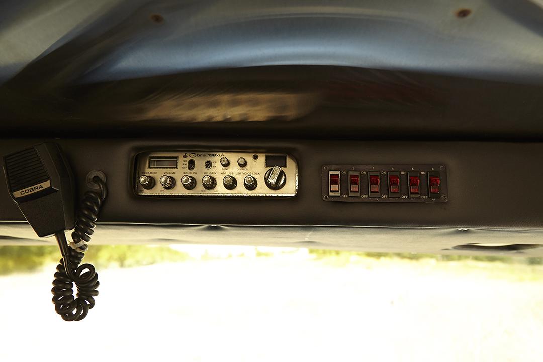 Deans Machine Van overhead controls radio