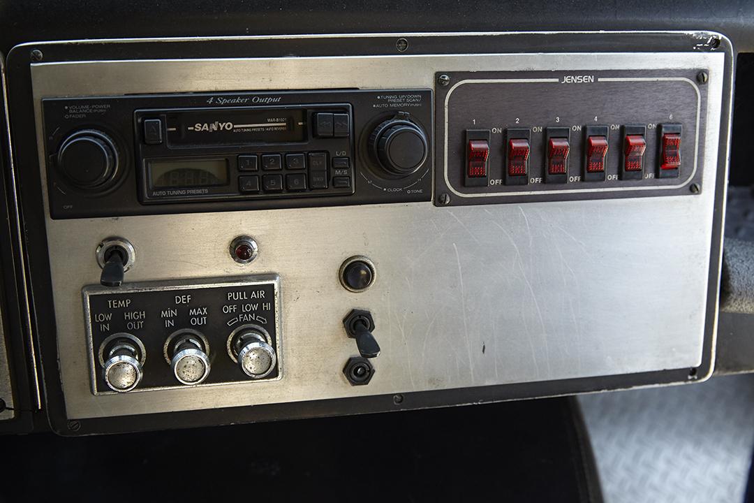 Deans Machine Van dash panel