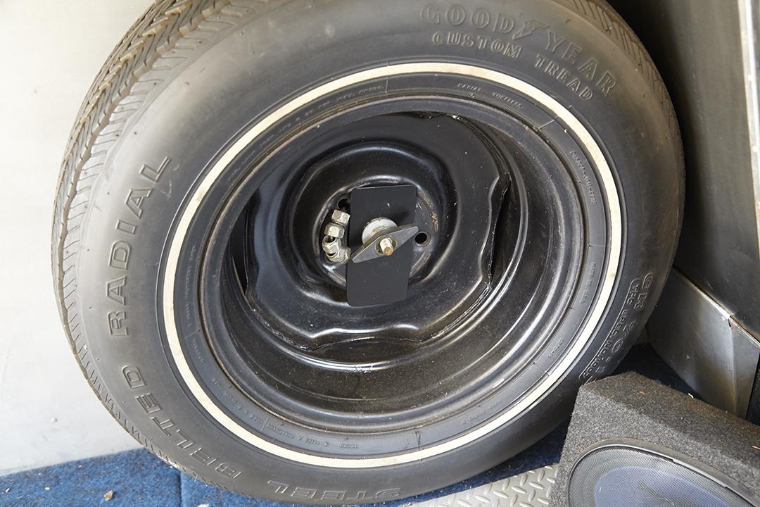 Deans Machine Van spare tire