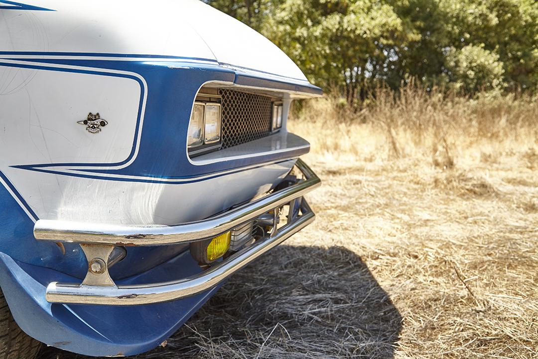 Deans Machine Van front fascia