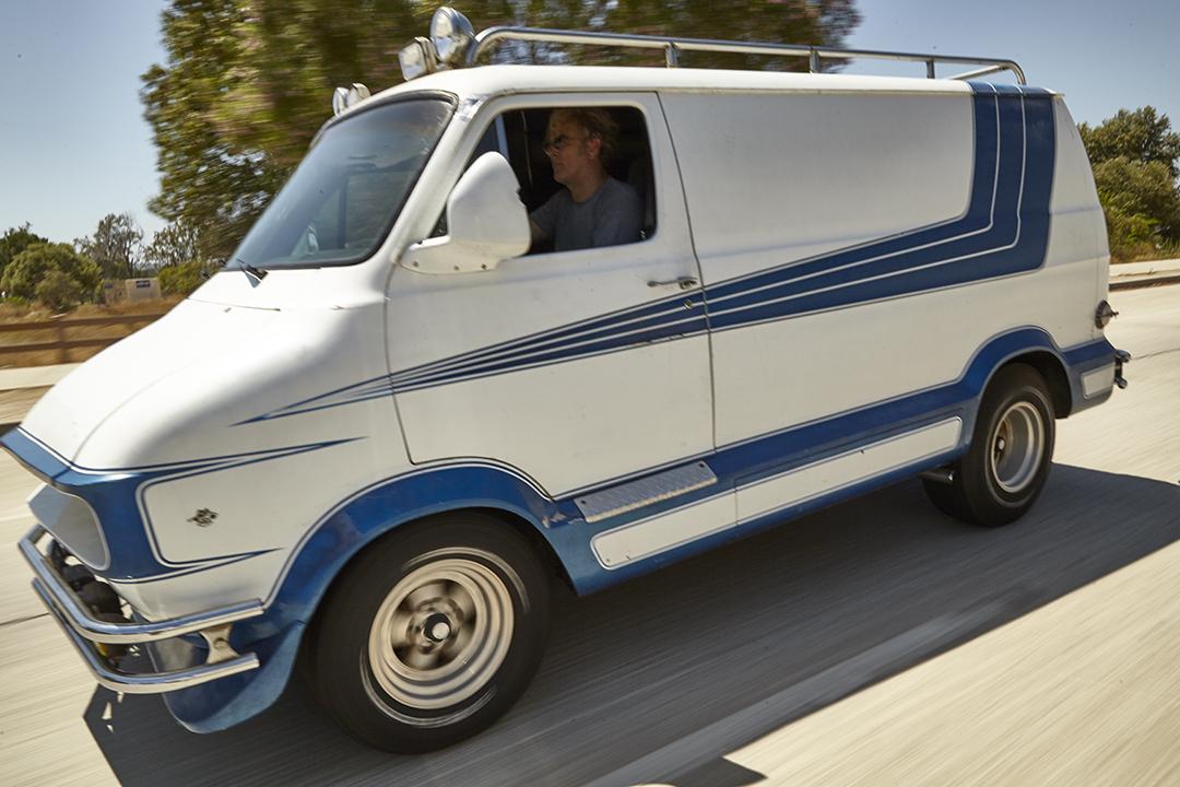 Deans Machine Van driving action