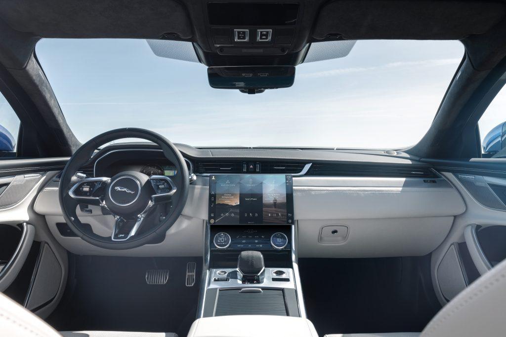 2021 Jaguar XF interior refresh