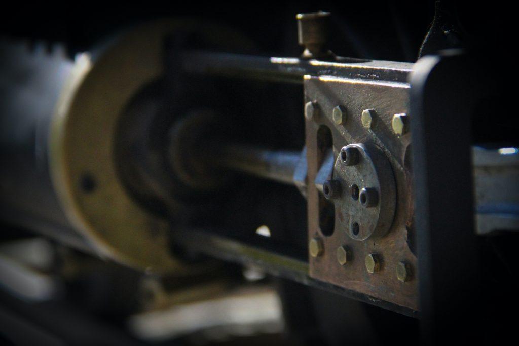 scale locomotive piston