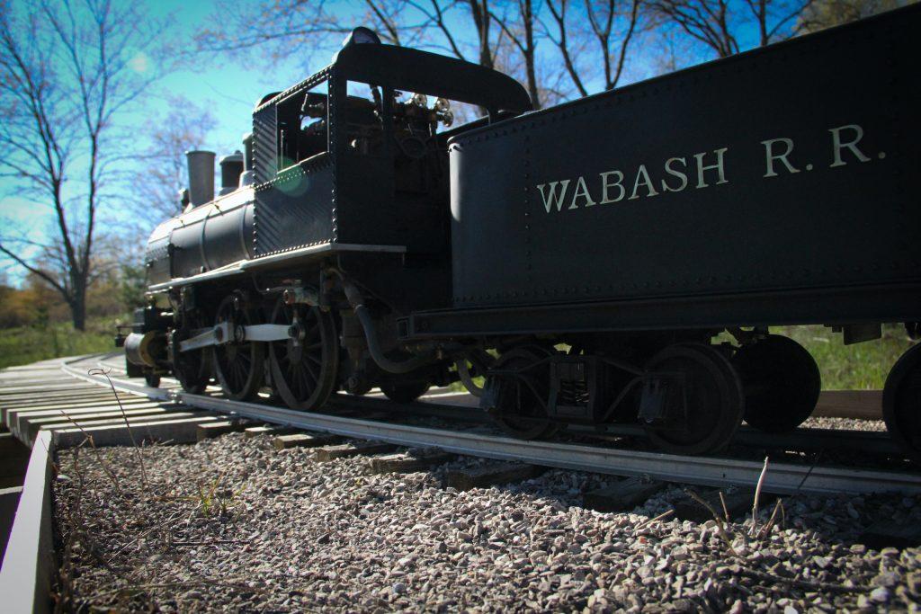 scale locomotive tender