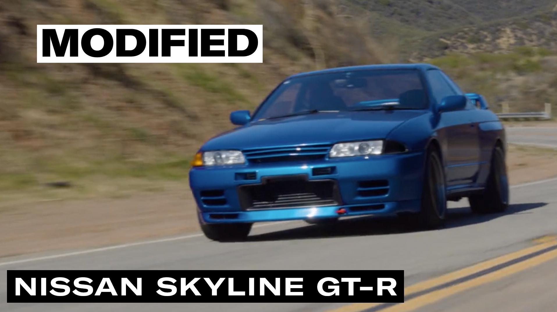 Modified Skyline GT-R