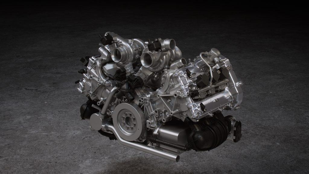 McLaren Artura V-6 Engine