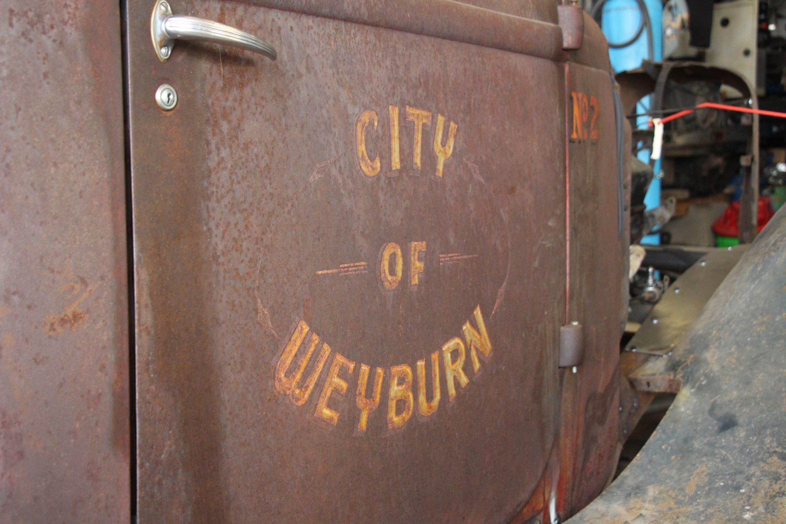 Mike Westwood city of weyburn The Hamilton Hauler