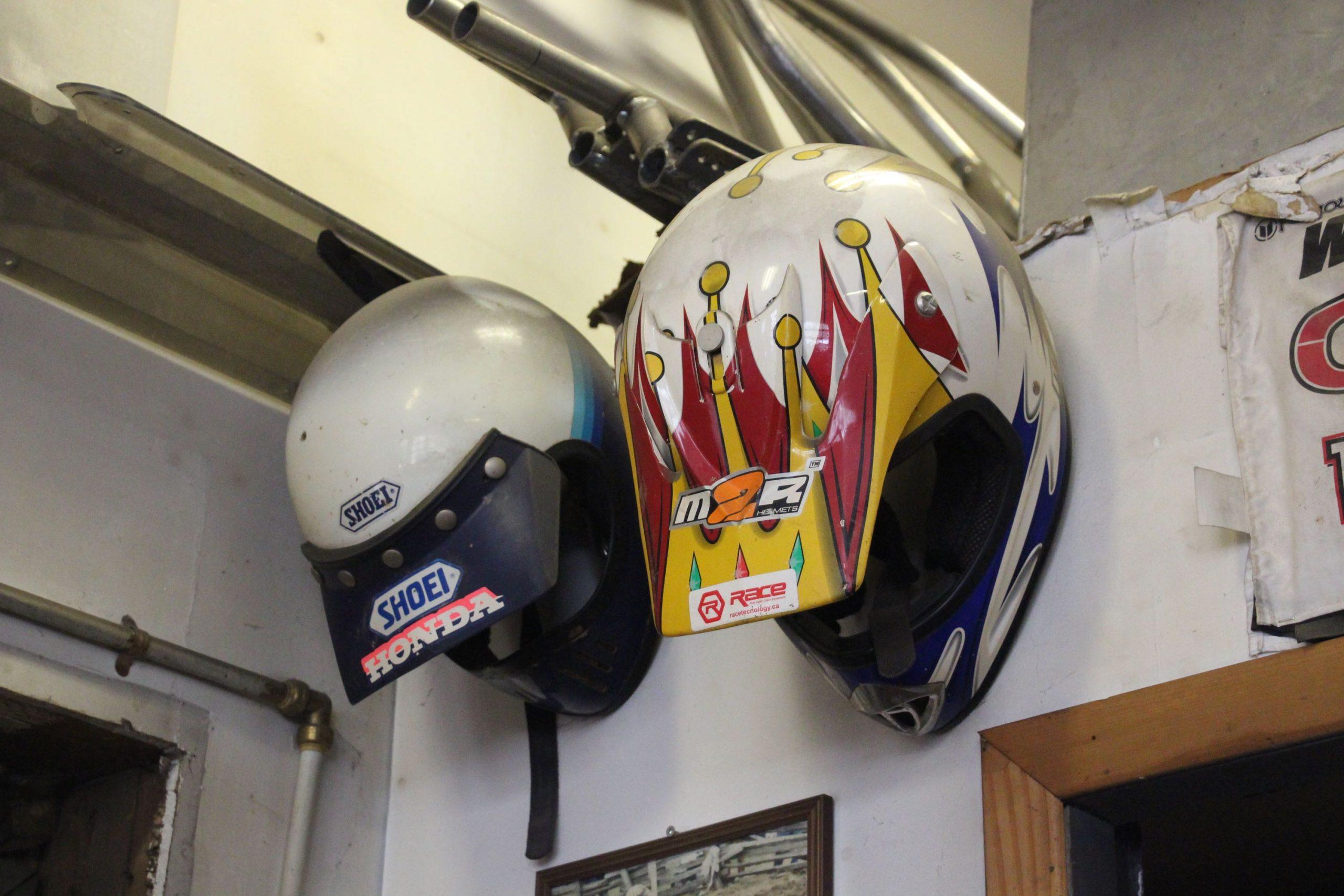 Mike Westwood helmets shop