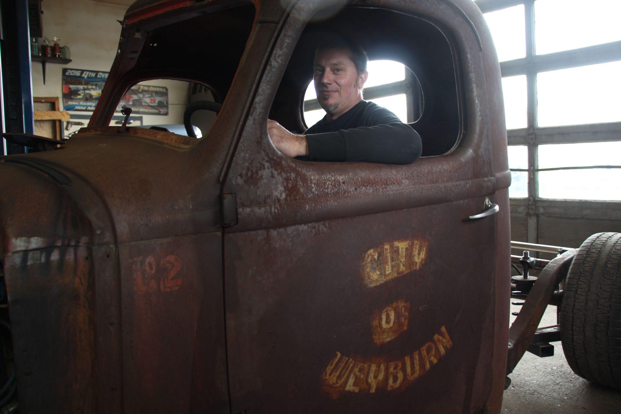 Mike Westwood in pickup