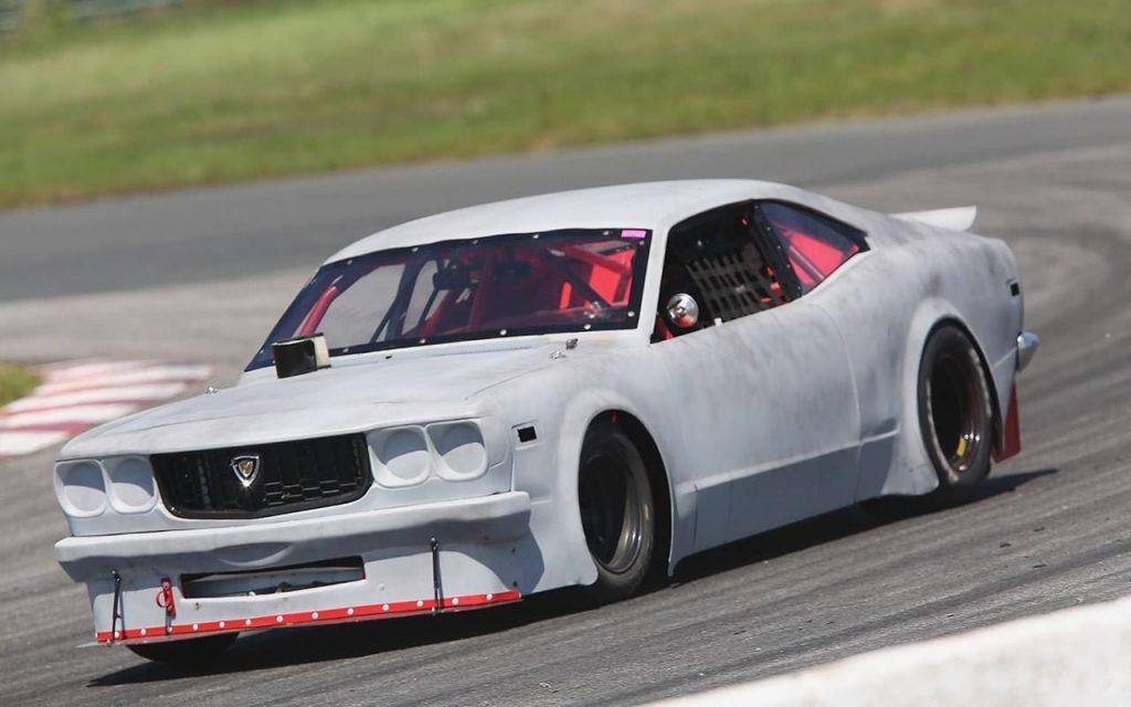 Mike Westwood Mazda RX-3 race car