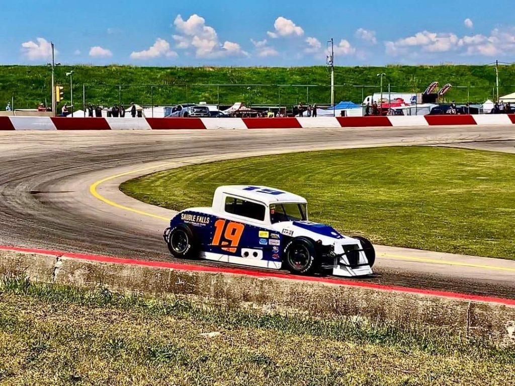 Mike Westwood racing