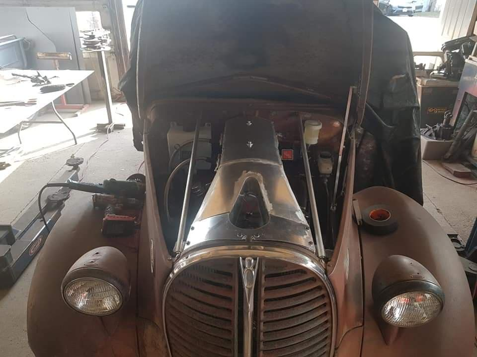 Mike Westwood Nasty 38 pickup hot rod 1938 Ford
