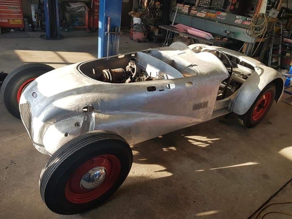 Mike Westwood Allard roadster