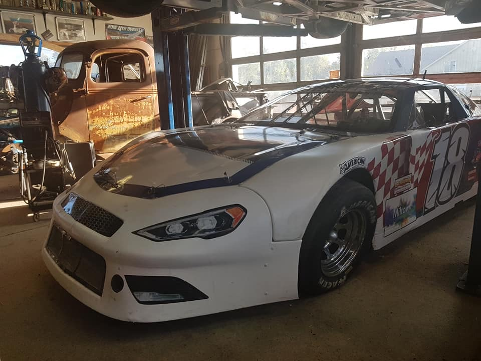 Mike Westwood stock car