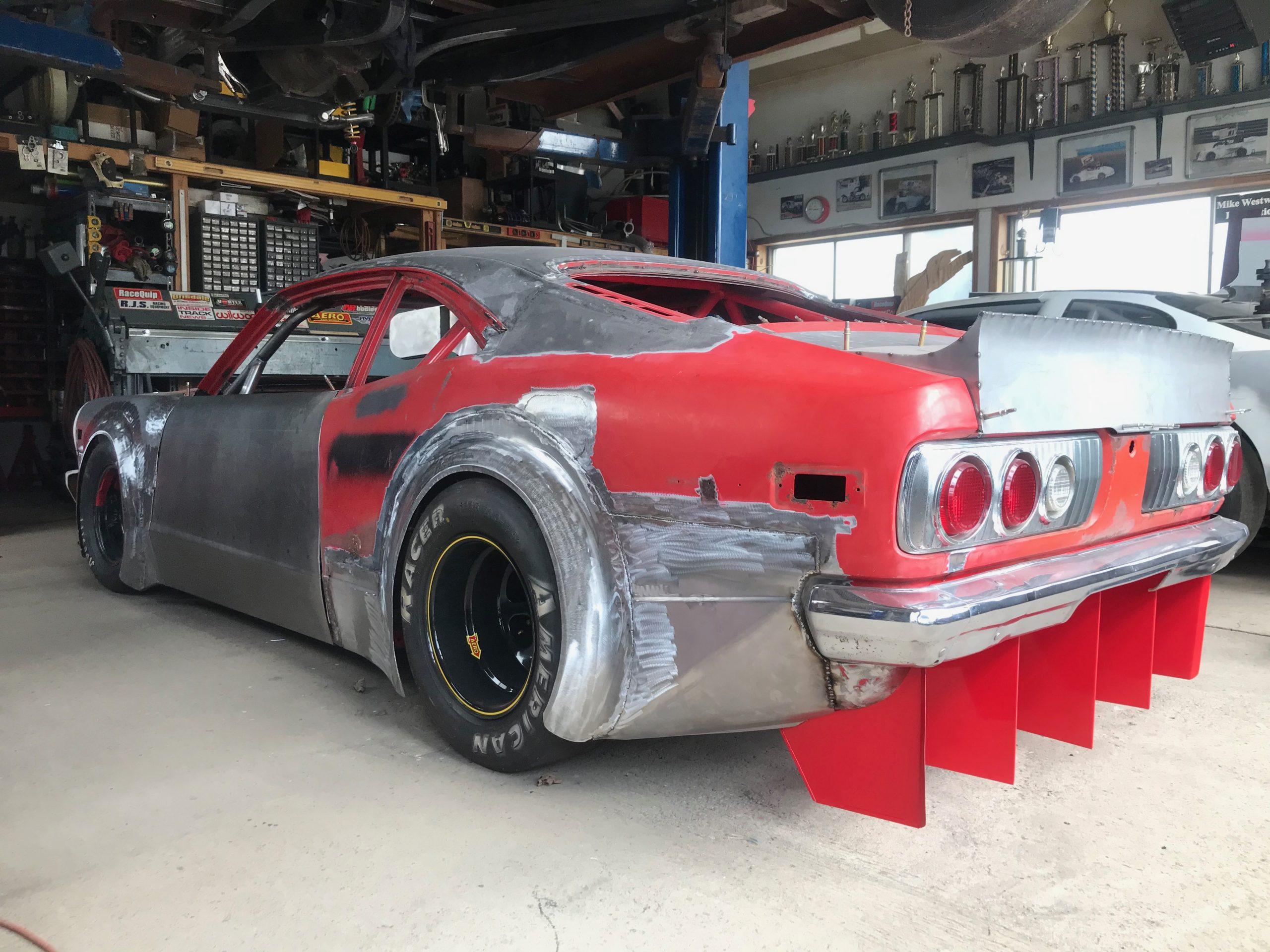 Mike Westwood RX-3 race car