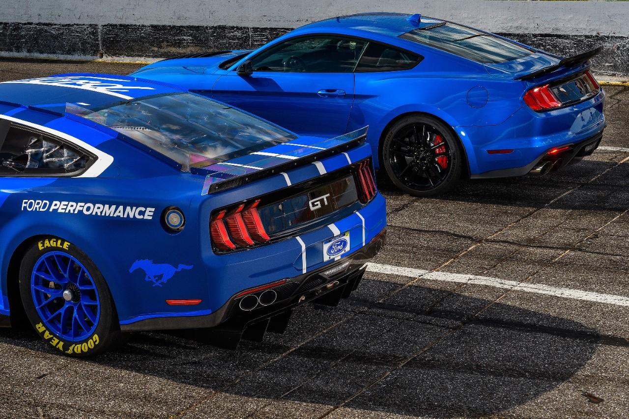 NASCAR Ford Mustang Stock Car