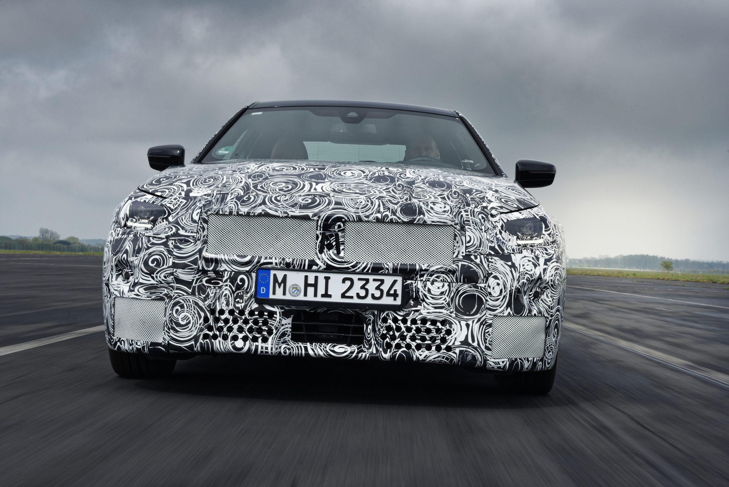 BMW 2 Series Coupe camo testing