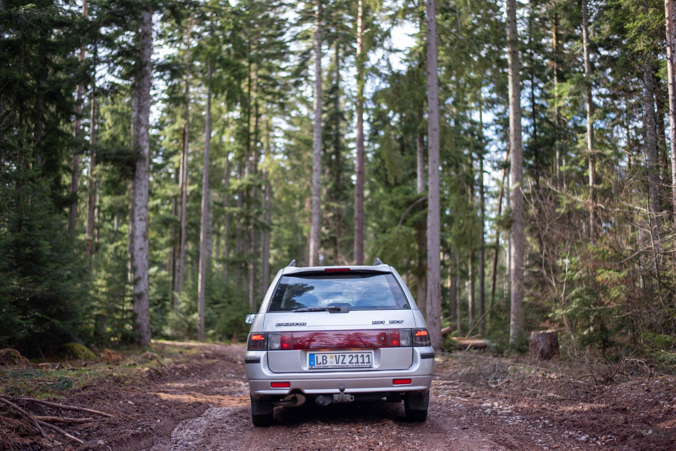 lada rear black forest germany