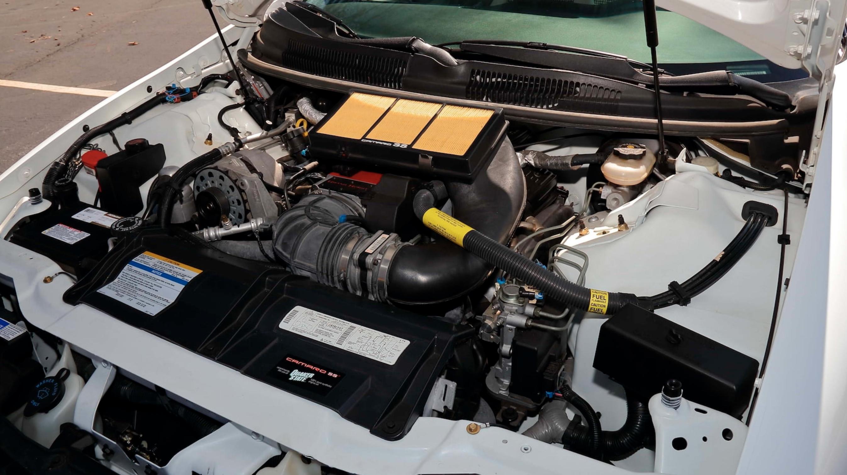 1997 Camaro 30th Anniversary LT4 engine