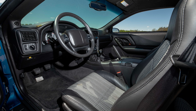 2002 Camaro ZL1 interior