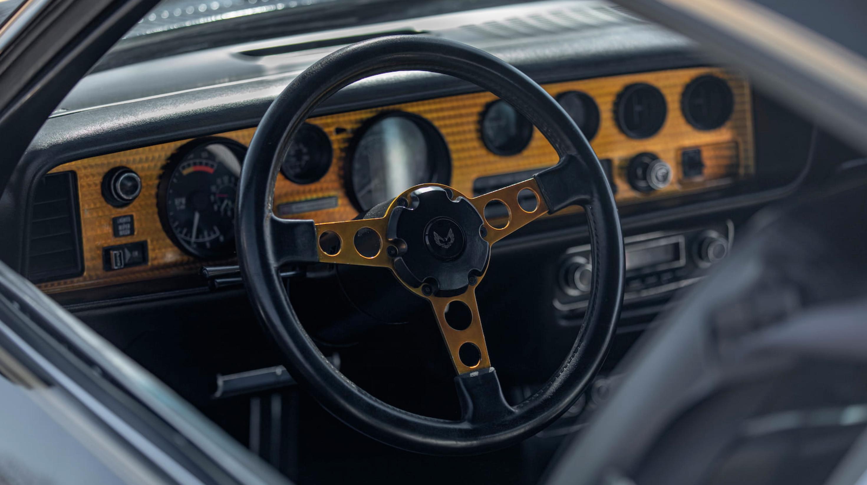1976 Pontiac Trans Am SE interior