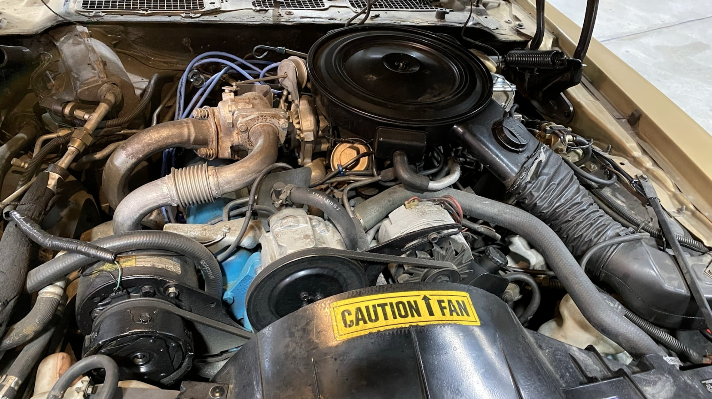 1980 Pontiac Trans Am Turbo engine