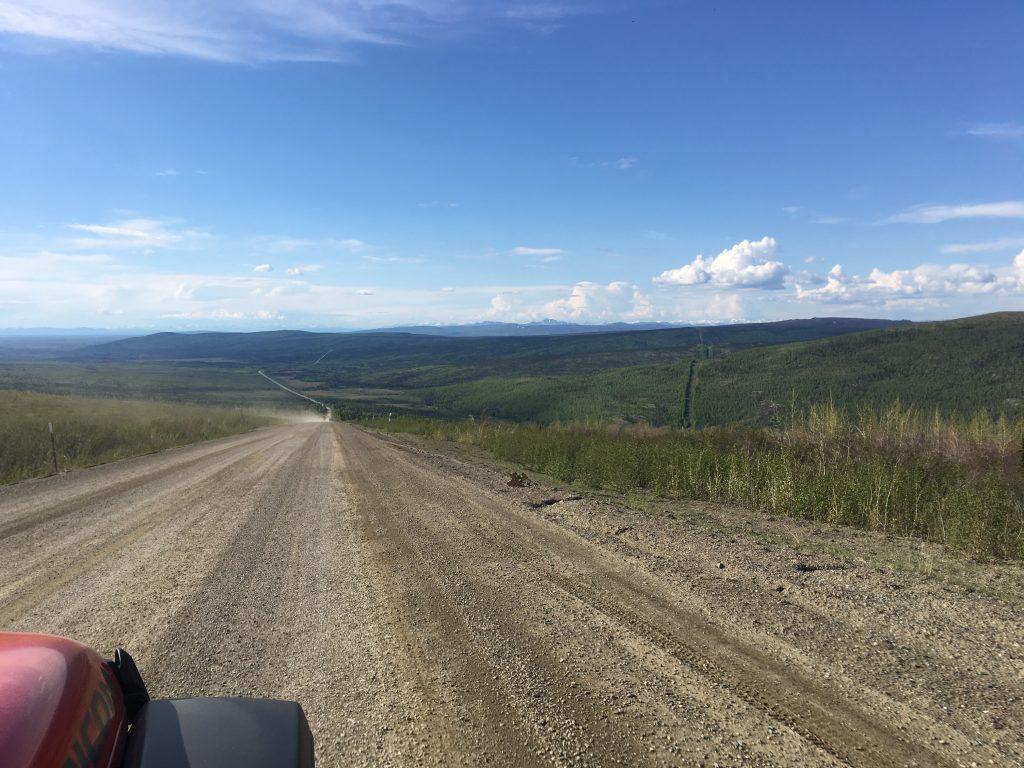 open dirt road