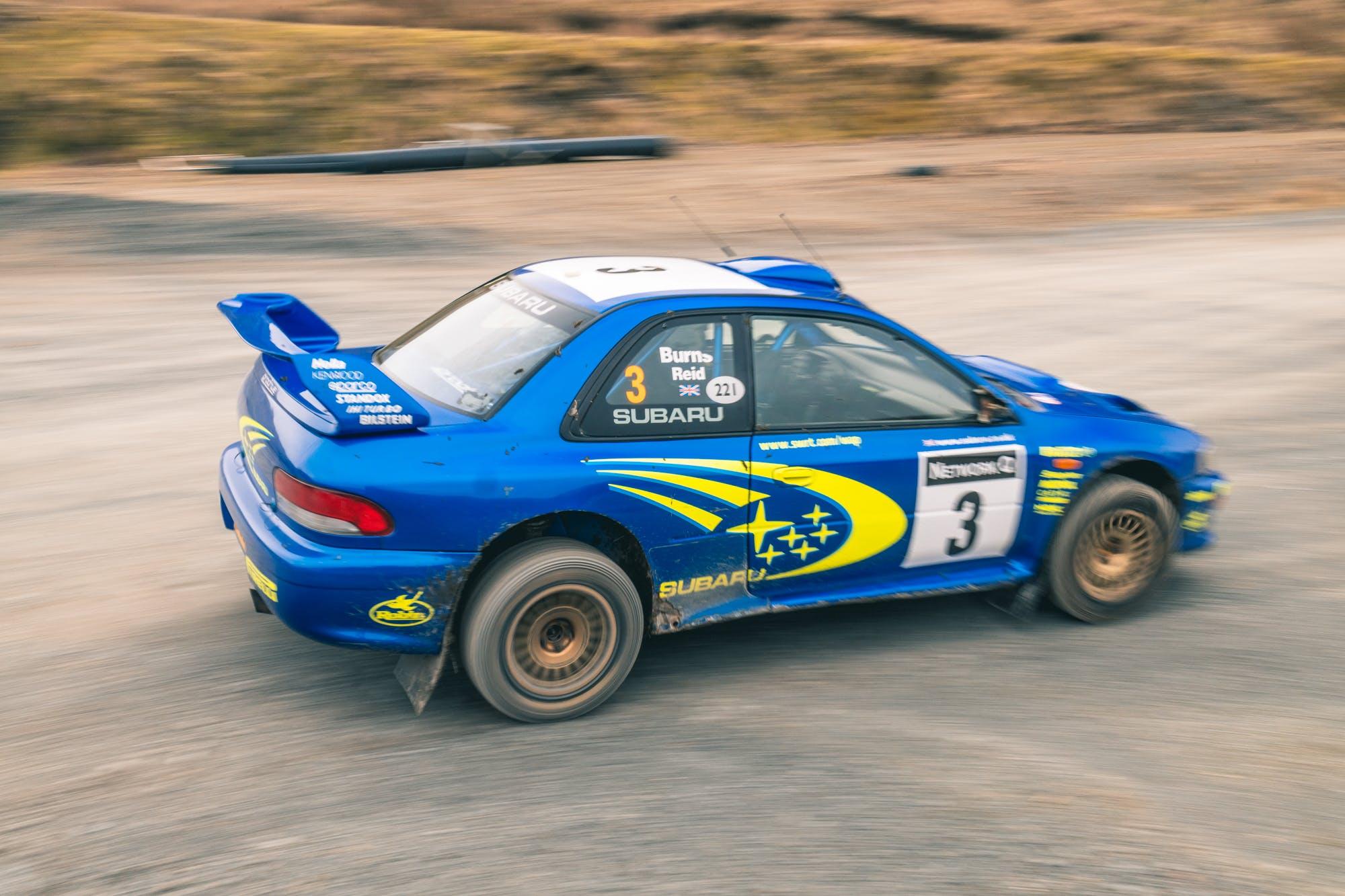 Subaru Impreza WRC 1