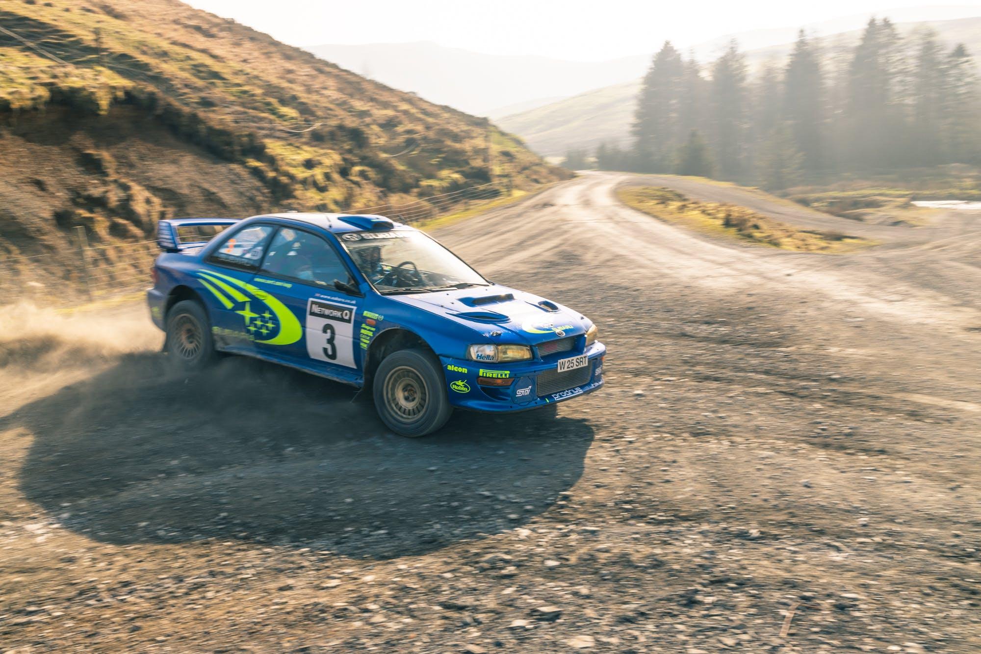 Subaru Impreza WRC 5