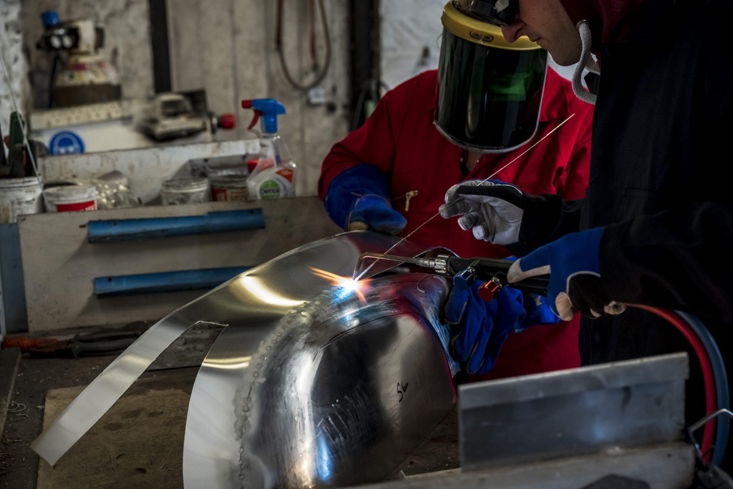 TAB II Classics aluminum welding