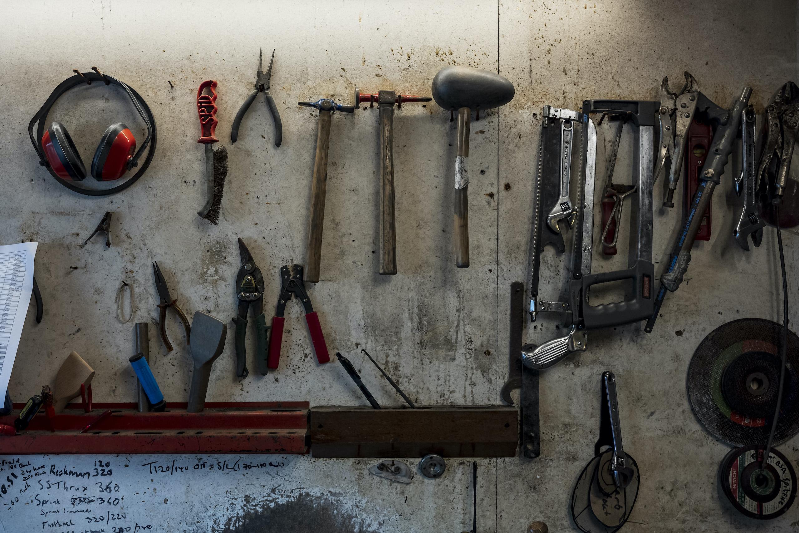 TAB II Classics wall tools
