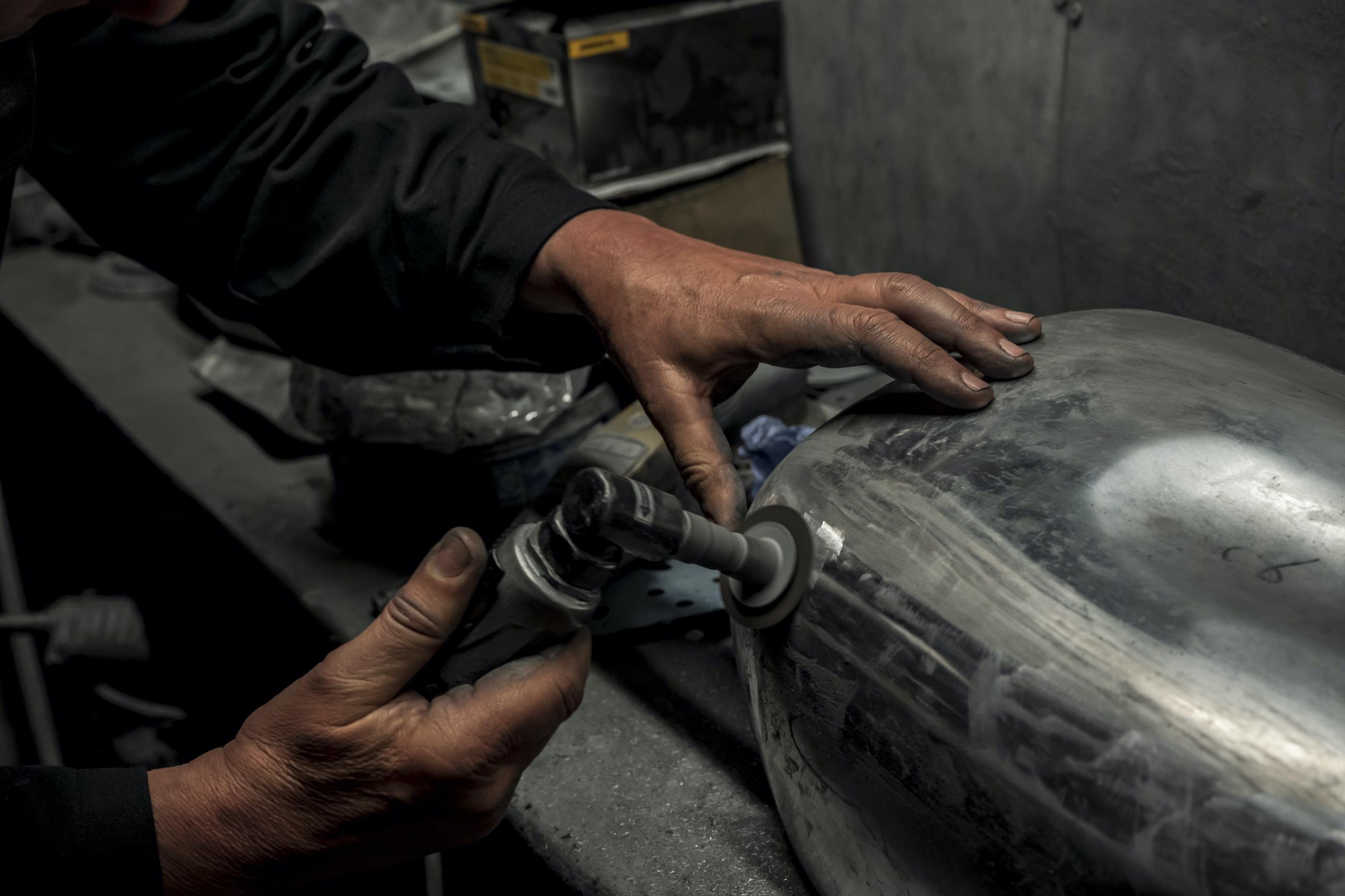 TAB II Classics metal hand drill polishing