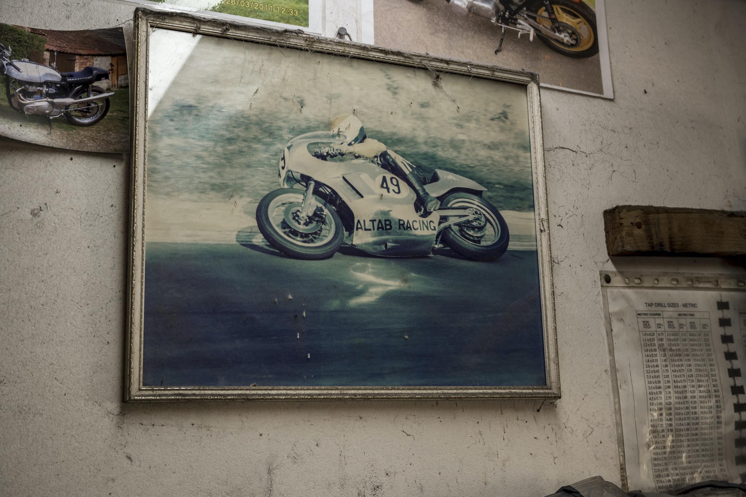 TAB II Classics altab racing wall photo