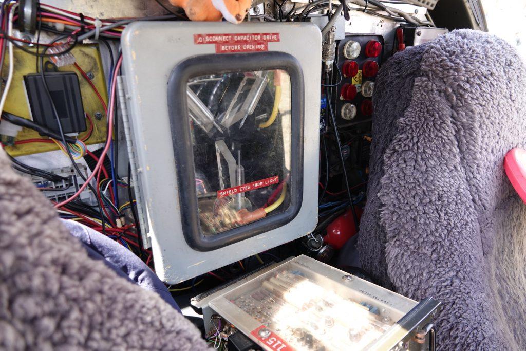 Time Machine - Flux capacitor