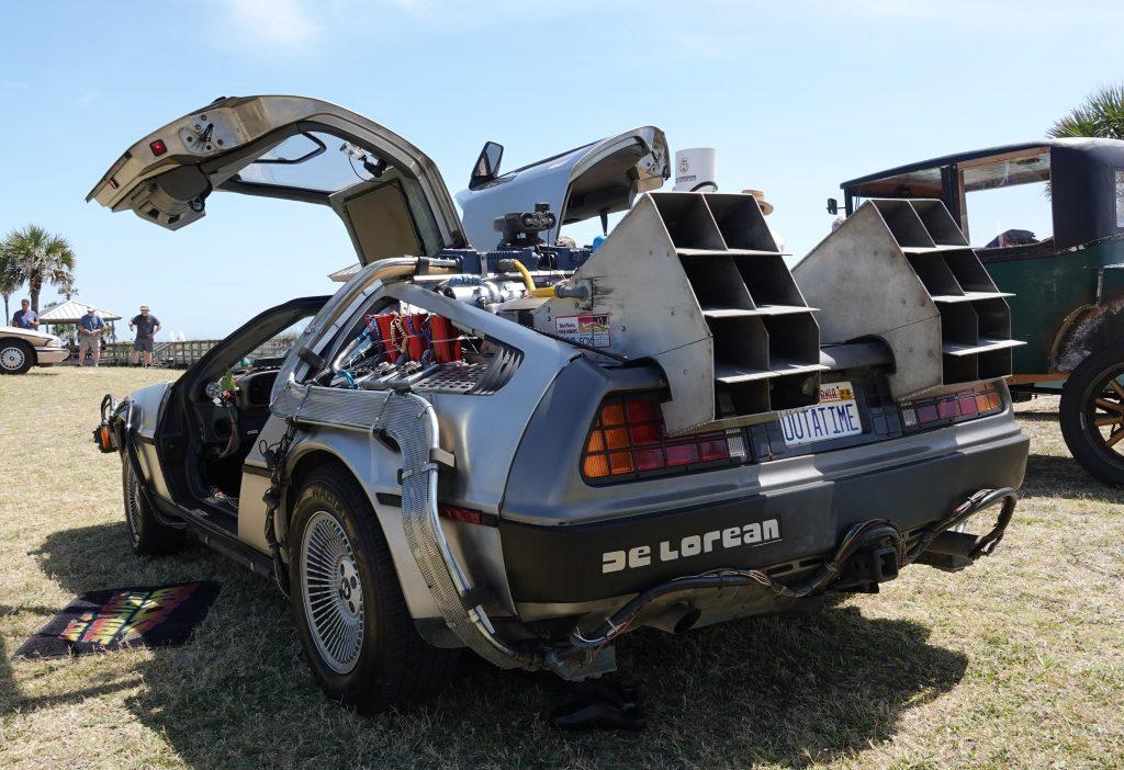 Time Machine - Rear view