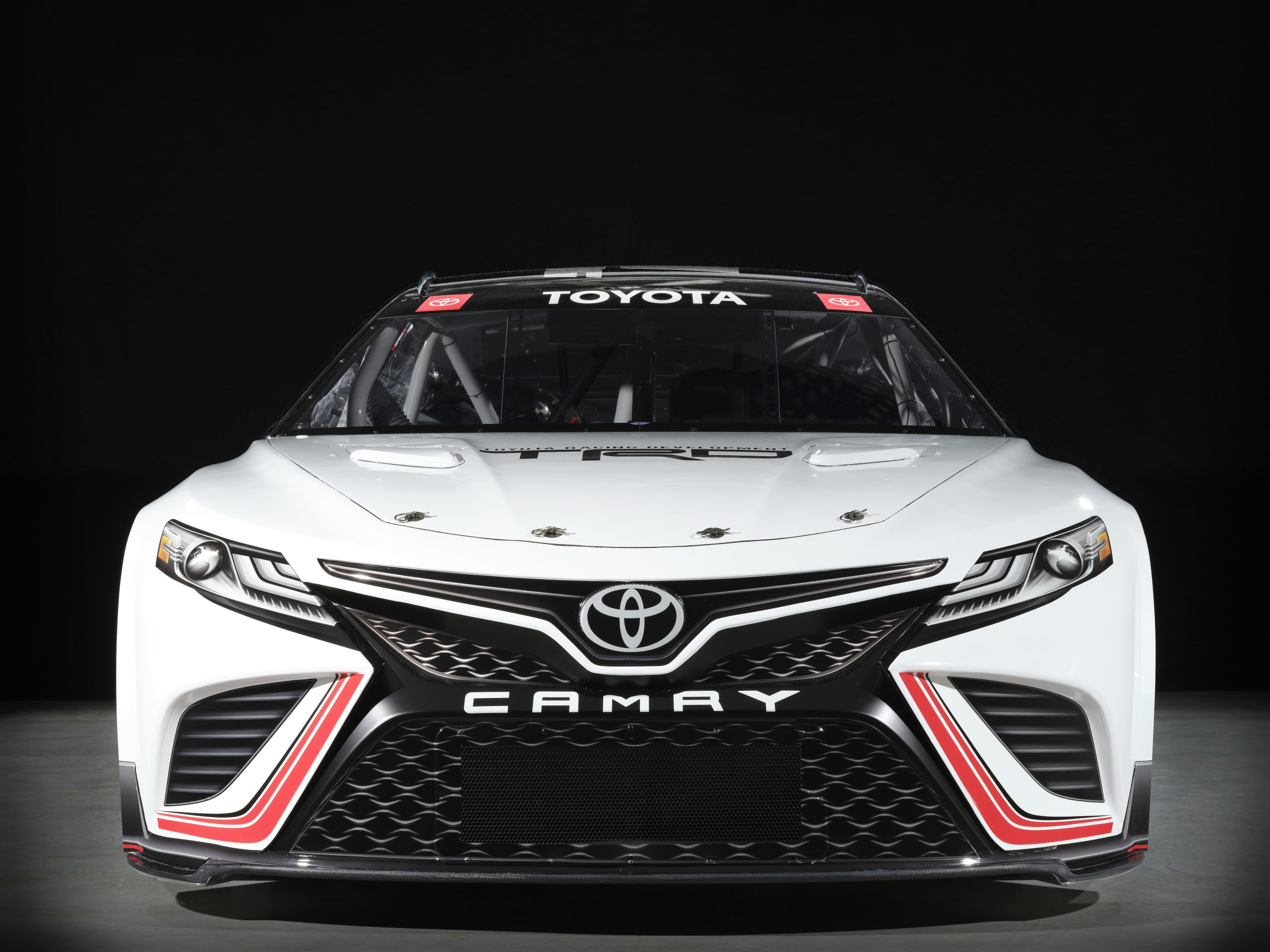 NASCAR Toyota Stock car camry front