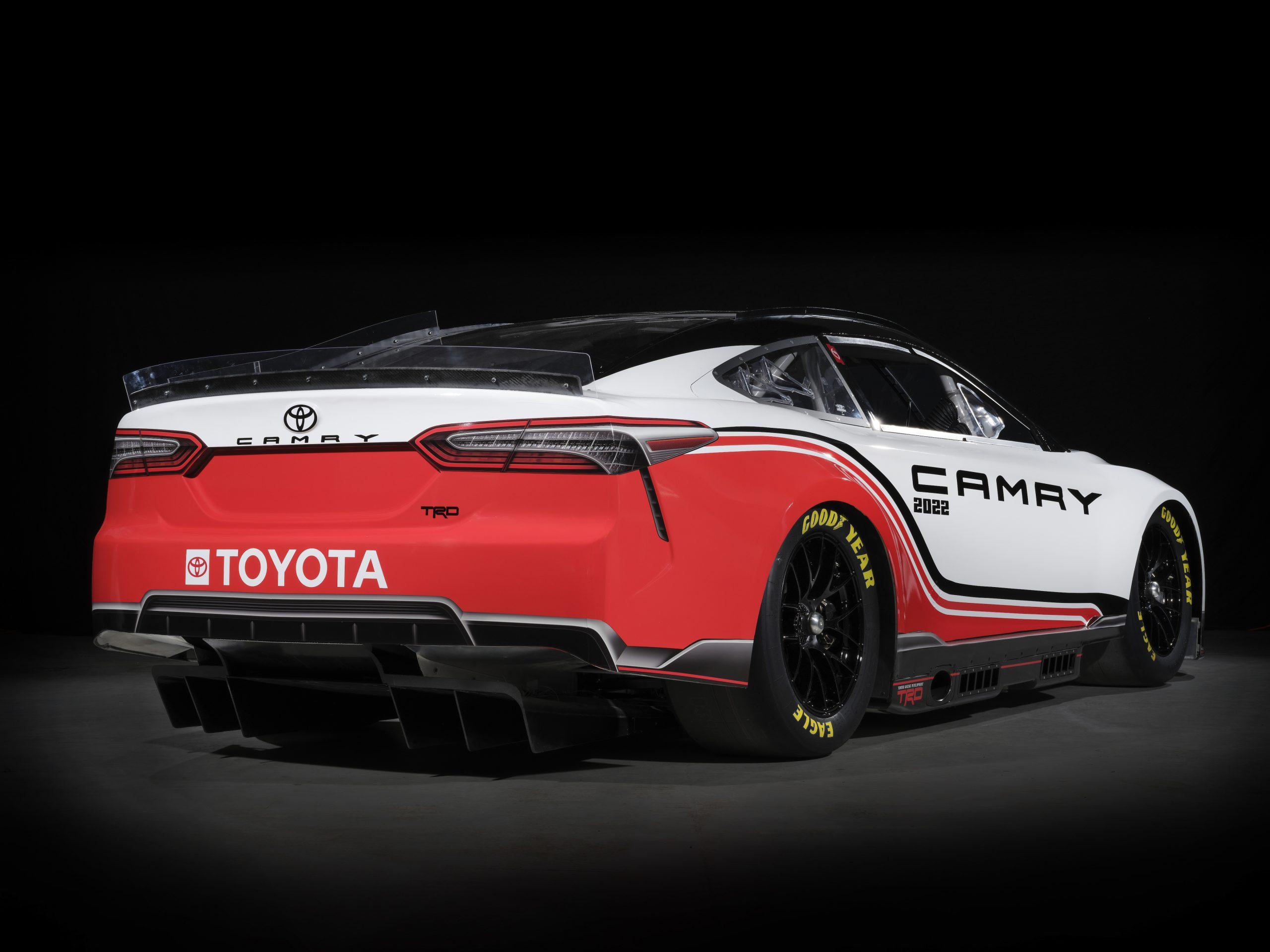 NASCAR Toyota Stock car camry rear studio